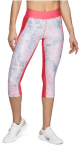 Nohavice 3/4 Under Armour HG Print Armour Capri