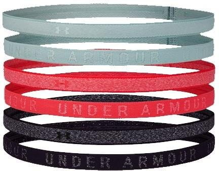 UA Heather Mini Headband (6pk)