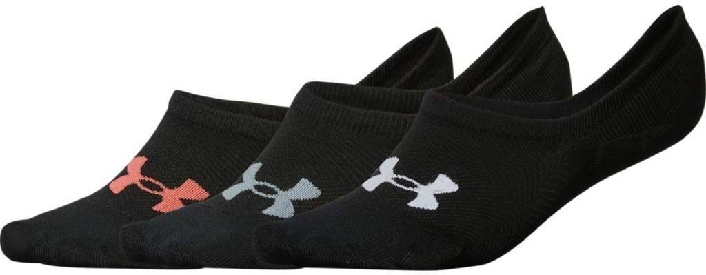 Dámské tréninkové ponožky Under Armour Essential Ultra Low Liner 3 páry