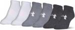 Ponožky Under Armour Solid 6 Pks No Show