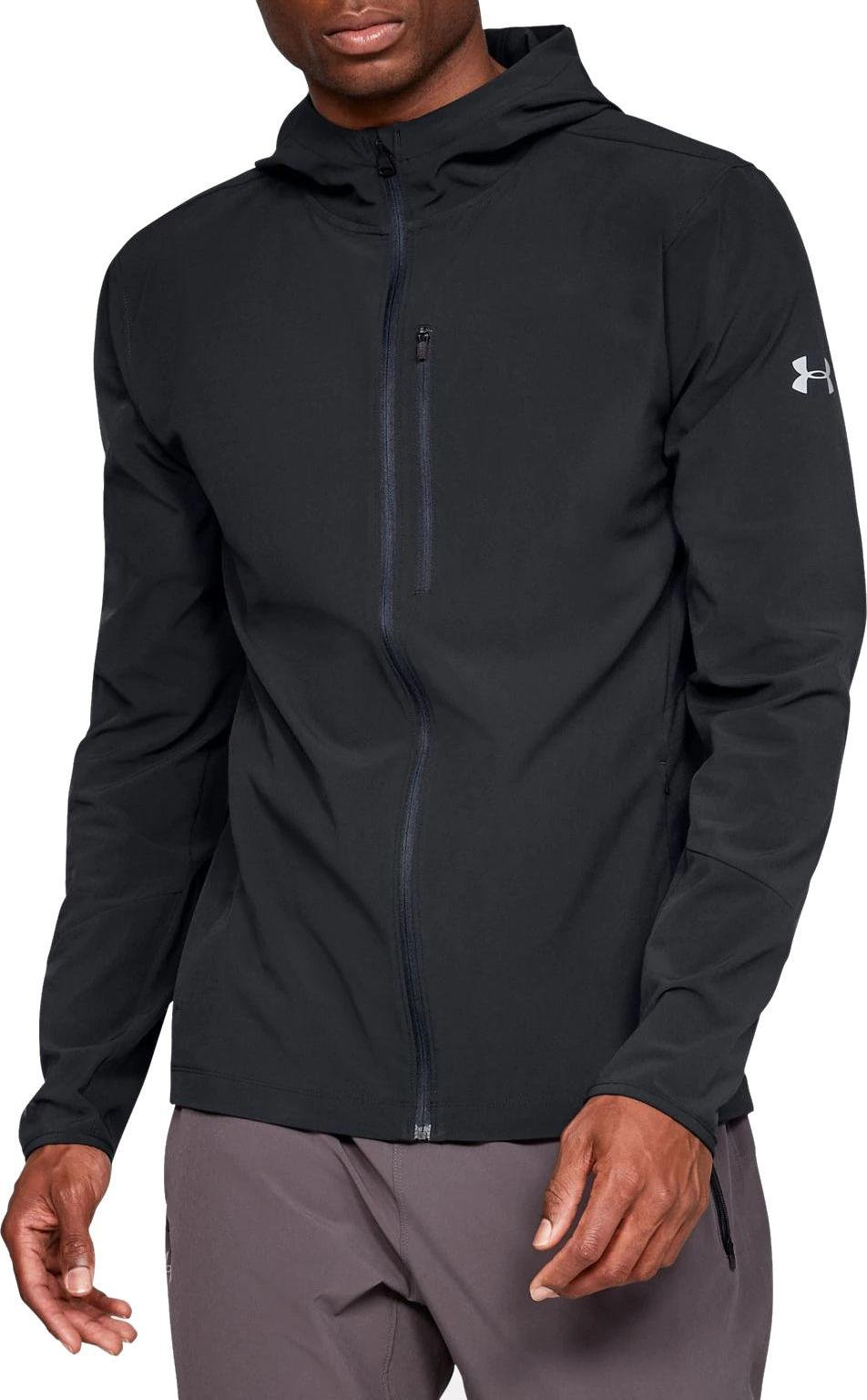 Motel Eslovenia Ya  Hooded jacket Under Armour OUTRUN THE STORM JACKET v2 - Top4Running.com