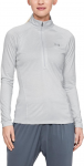 Triko s dlouhým rukávem Under Armour Tech 1/2 Zip - Twist-GRY
