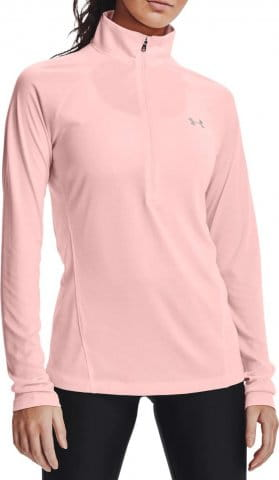 Camiseta de manga larga Under Armour Tech 1/2 Zip - Twist-PNK