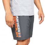Šortky Under Armour Woven Graphic Wordmark Short-GRY