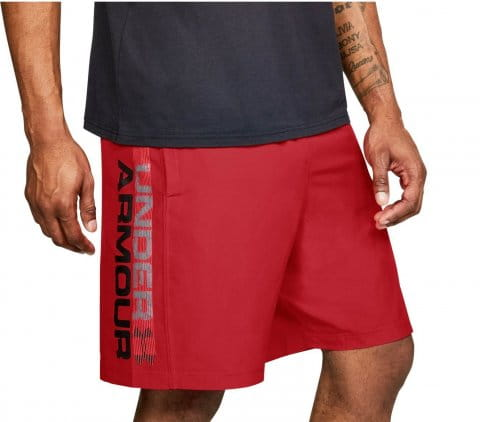 Pantalons courts Under Armour Woven Graphic Wordmark Short
