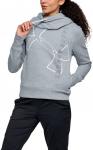 Mikina s kapucí Under Armour Big Logo WM Cotton Hoodie