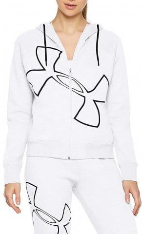 Mikina s kapucí Under Armour Big Logo WM FZ Hoodie