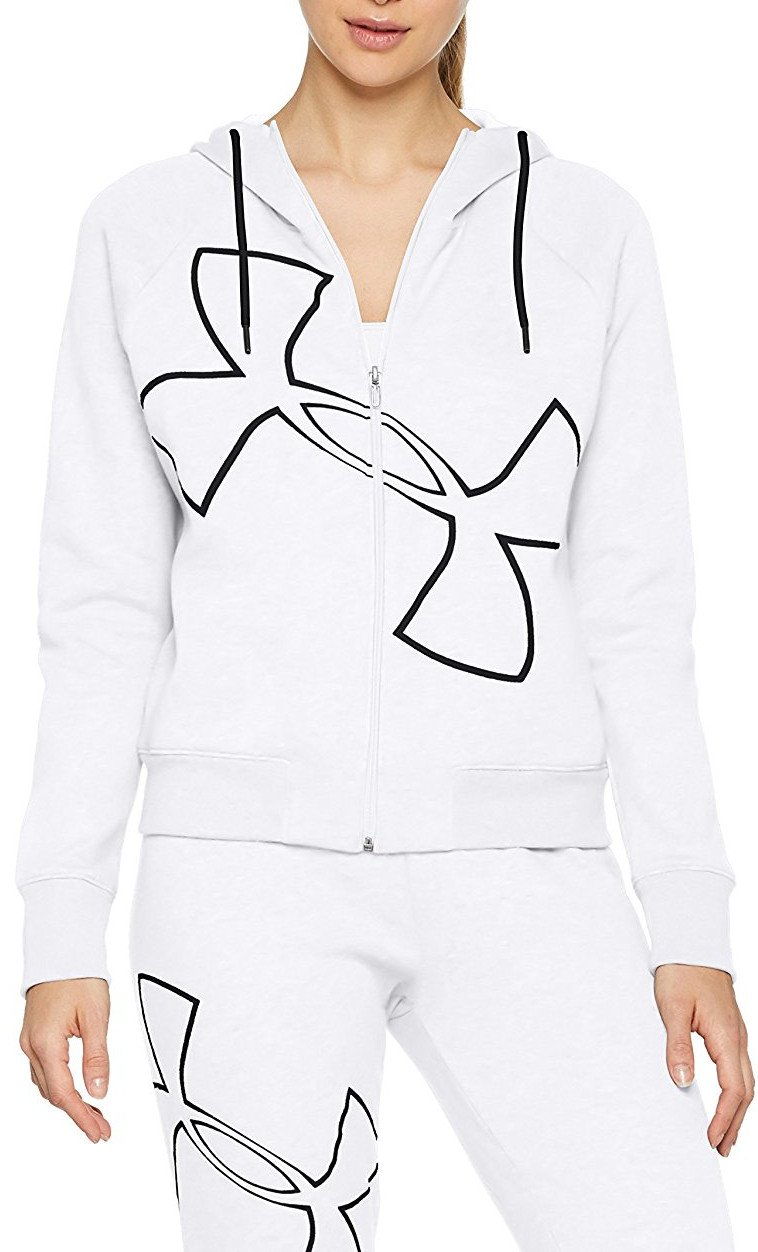 Mikina s kapucňou Under Armour Big Logo WM FZ Hoodie