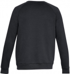 RIVAL FLEECE CREW-BLK