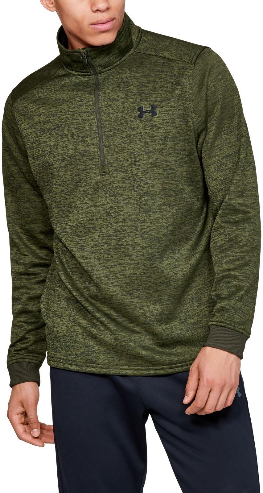 madera emulsión Organo  Long-sleeve T-shirt Under Armour ARMOUR FLEECE 1/2 ZIP - Top4Fitness.com