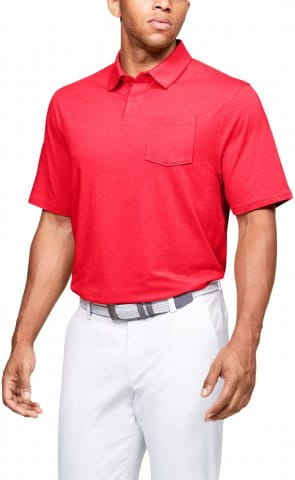 T-Shirt Under Armour Charged Cotton Scramble Polo