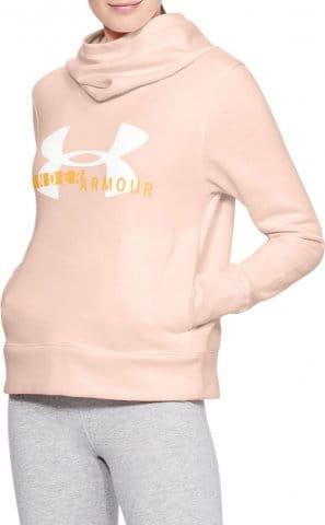 Mikina s kapucí Under Armour Cotton Fleece Sportstyle Logo hoodie