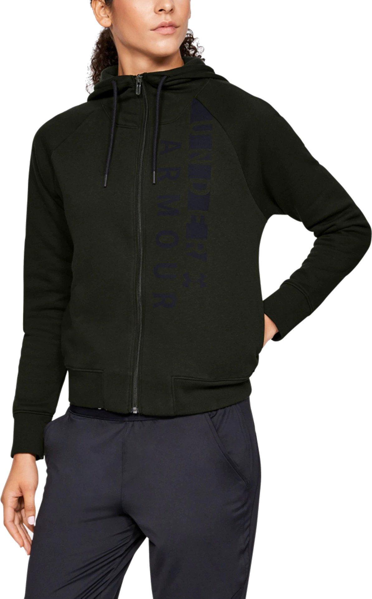 Dámská bunda s kapucí Under Armour Cotton Fleece WM FZ