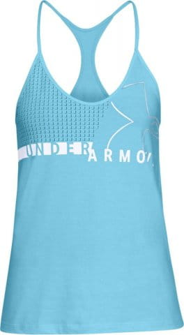 Graphic Fashion Wm Logo Tank Maglia Donna Under Armour