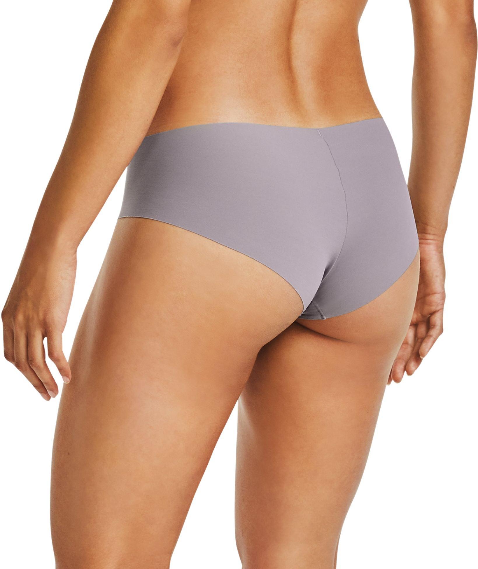 Under Armour Womens PS Hipster Print Underwear Black Purple Sports Running Gym