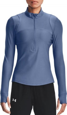 Camiseta de manga larga Under Armour UA Qualifier Half Zip-BLU