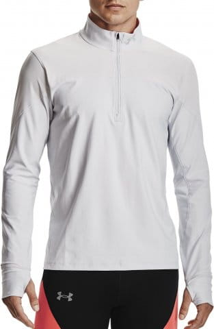 Sweatshirt Under Armour UA QUALIFIER HALF ZIP-GRY