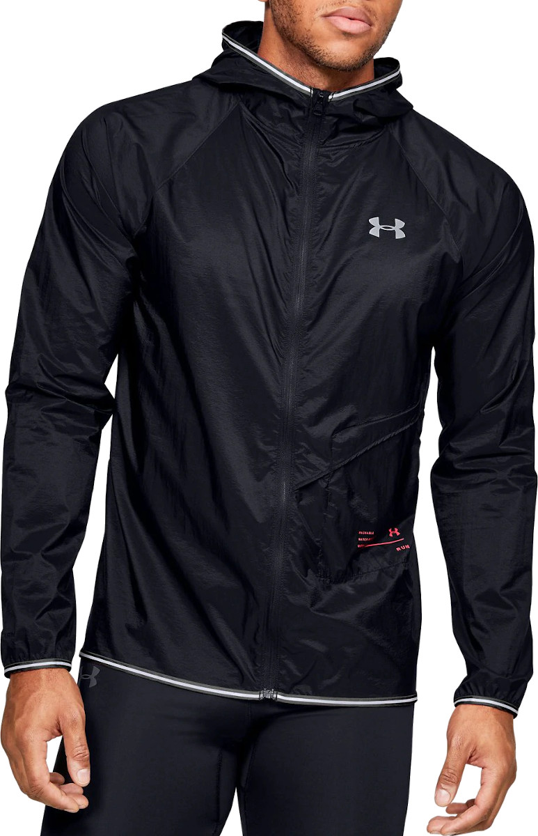 Pánská běžecká bunda s kapucí Under Armour Qualifier Storm