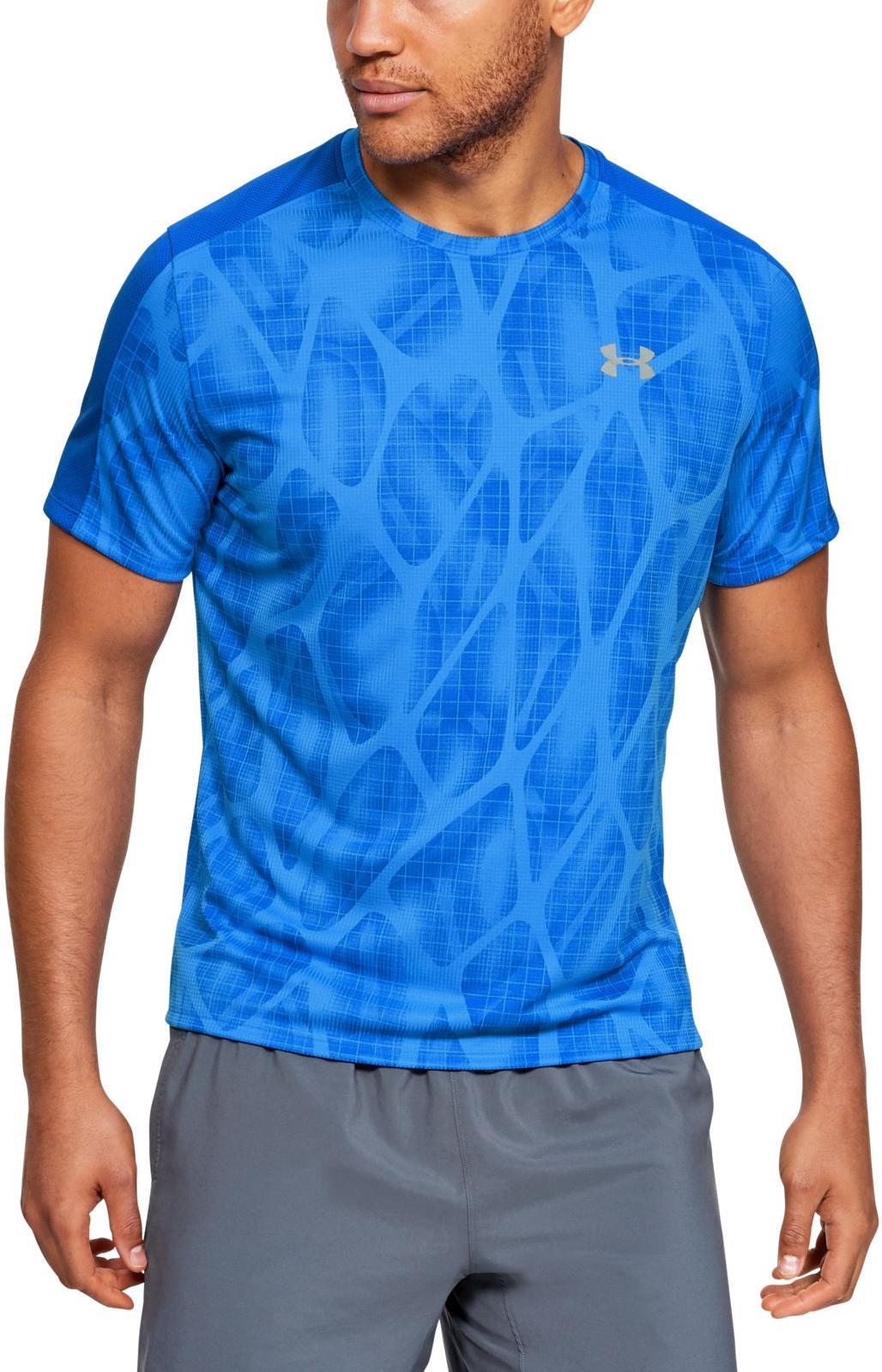 Pánské běžecké triko s krátkým rukávem Under Armour Speed Stride Printed