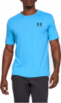 Triko Under Armour SPORTSTYLE LEFT CHEST SS-BLU