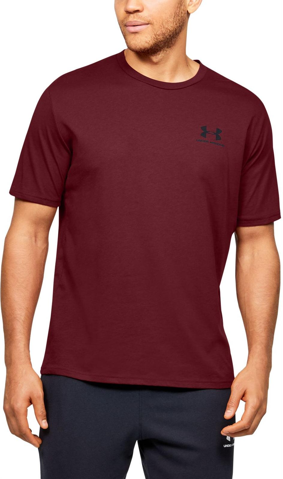 Pánské triko s krátkým rukávem Under Armour Sportstyle Chest