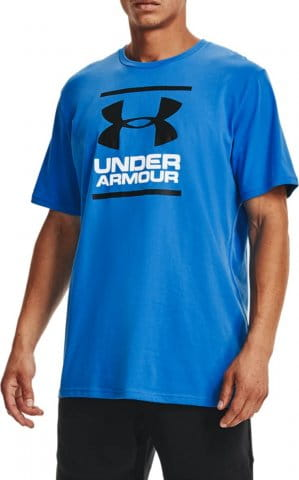 Tee-shirt Under Armour UA GL Foundation SS T-BLU