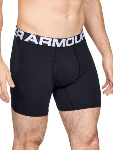 Shorts Under Armour Charged Cotton 6in 3 Pack