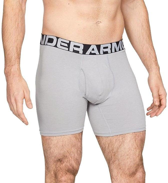 Boxerky Under Armour UA Charged Cotton 6in 3 Pack