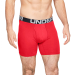 Under Armour Charged Cotton 6in 3 Pack Boxeralsók