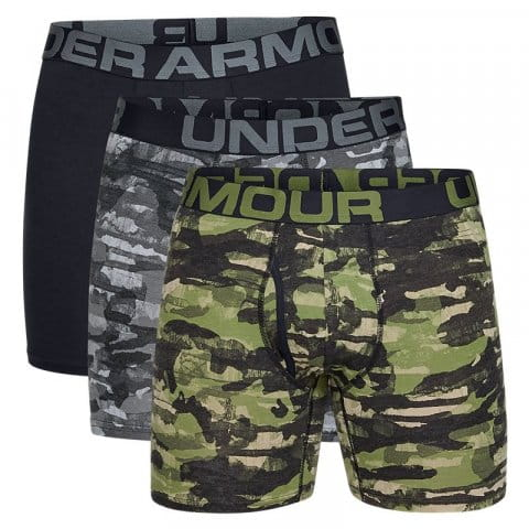 Boxerky Under Armour Charged Cotton 6in 3 Pack Novelty