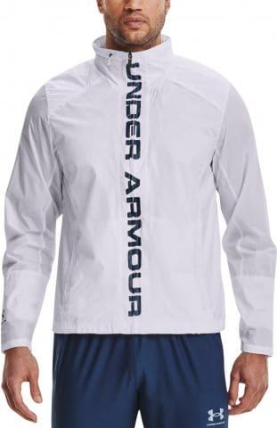 Hooded jacket Under Armour Accelerate Pro Storm Shell-WHT