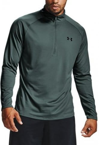 Under Armour UA Tech 2.0 1/2 Zip-BLU Hosszú ujjú póló
