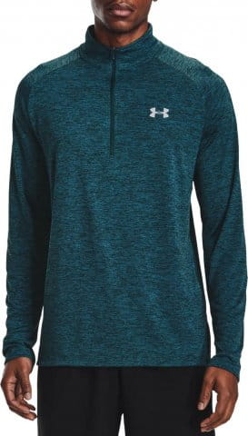 Langarm-T-Shirt Under Armour UA Tech 2.0 1/2 Zip-BLU