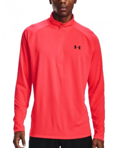 Camiseta de manga larga Under Armour UA Tech 2.0 1/2 Zip-RED
