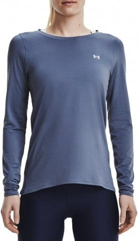 Tricou cu maneca lunga Under Armour UA HG Armour Long Sleeve-BLU