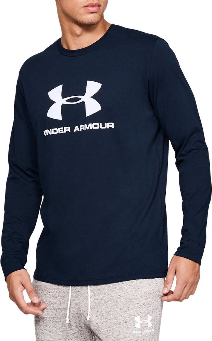 Tričko s dlhým rukávom Under Armour SPORTSTYLE LOGO LS
