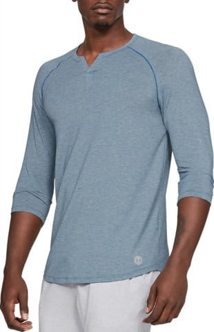 Tricou cu maneca lunga Under Armour Recovery Sleepwear Henley