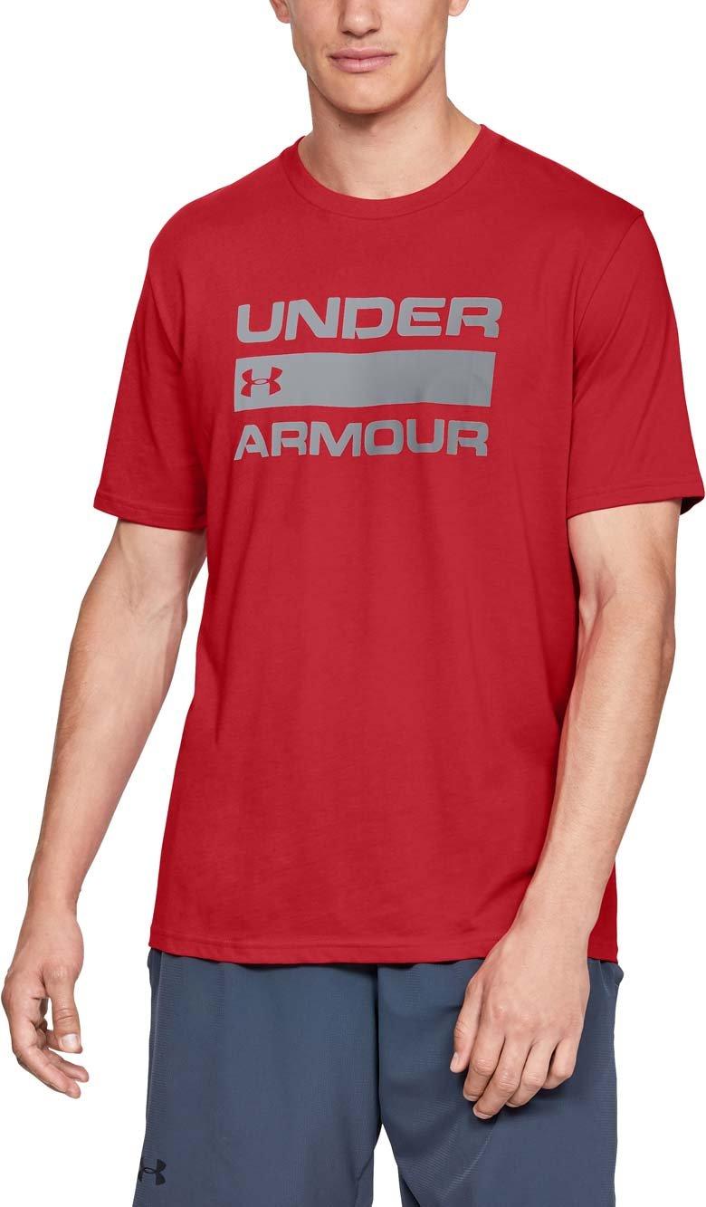 Pánské tričko s krátkým rukávem Under Armour Team Issue Wordmark