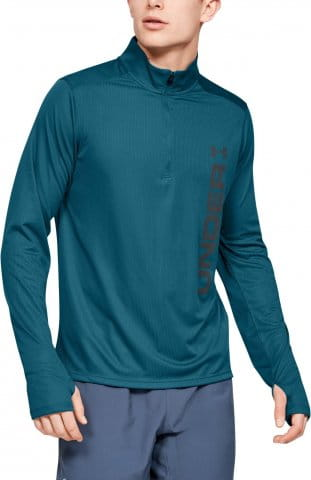 Magliette a maniche lunghe Under Armour UA SPEED STRIDE SPLIT 1/4 ZIP