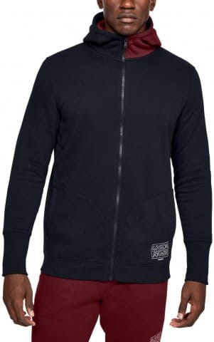 Mikina s kapucňou Under Armour UA BASELINE FLEECE FZ HOOD