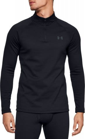 Langarm-T-Shirt Under Armour ColdGear Base 4.0 1/4 ZIP LS TOP