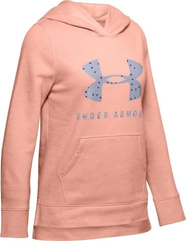 Sweatshirt à capuche Under Armour Rival Print Fill Logo Hoodie