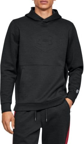 Felpe con cappuccio Under Armour Athlete Recovery Fleece Graphic Hoodie