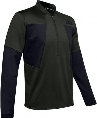 Gametime Fleece 1/2 Zip-GRN