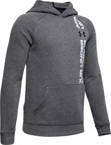 Sweatshirt à capuche Under Armour Rival Wordmark Hoody Y