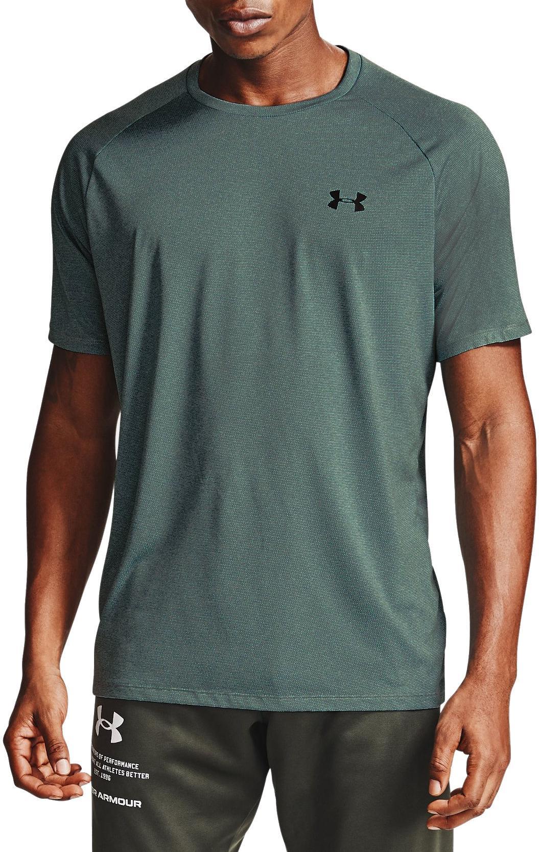 schnelltrocknendes Trainingsshirt Under Armour Herren UA Tech 2.0 SS Tee Novelty atmungsaktives Sportshirt