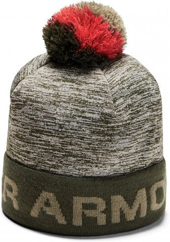 Čiapky Under Armour Boy's Gametime Pom Beanie