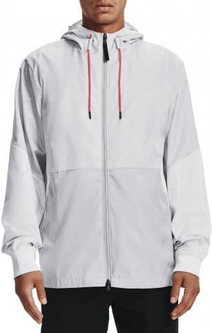 Hooded jacket Under Armour UA LEGACY WINDBREAKER-GRY