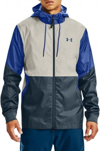 Hooded jacket Under Armour UA LEGACY WINDBREAKER-WHT