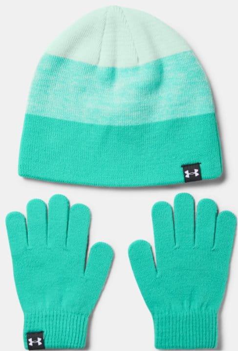 Dětská čepice a rukavice Under Armour G Beanie Glove Combo